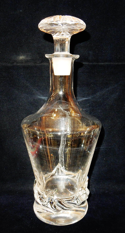 Bottiglia in cristallo daum francia epoca inizi del 1900 for Bottiglia in francese